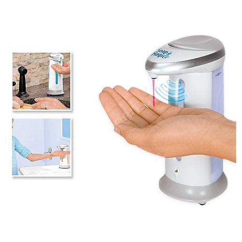 Товары для кухни Мыльница сенсорная Soap Magic dispenser.jpg
