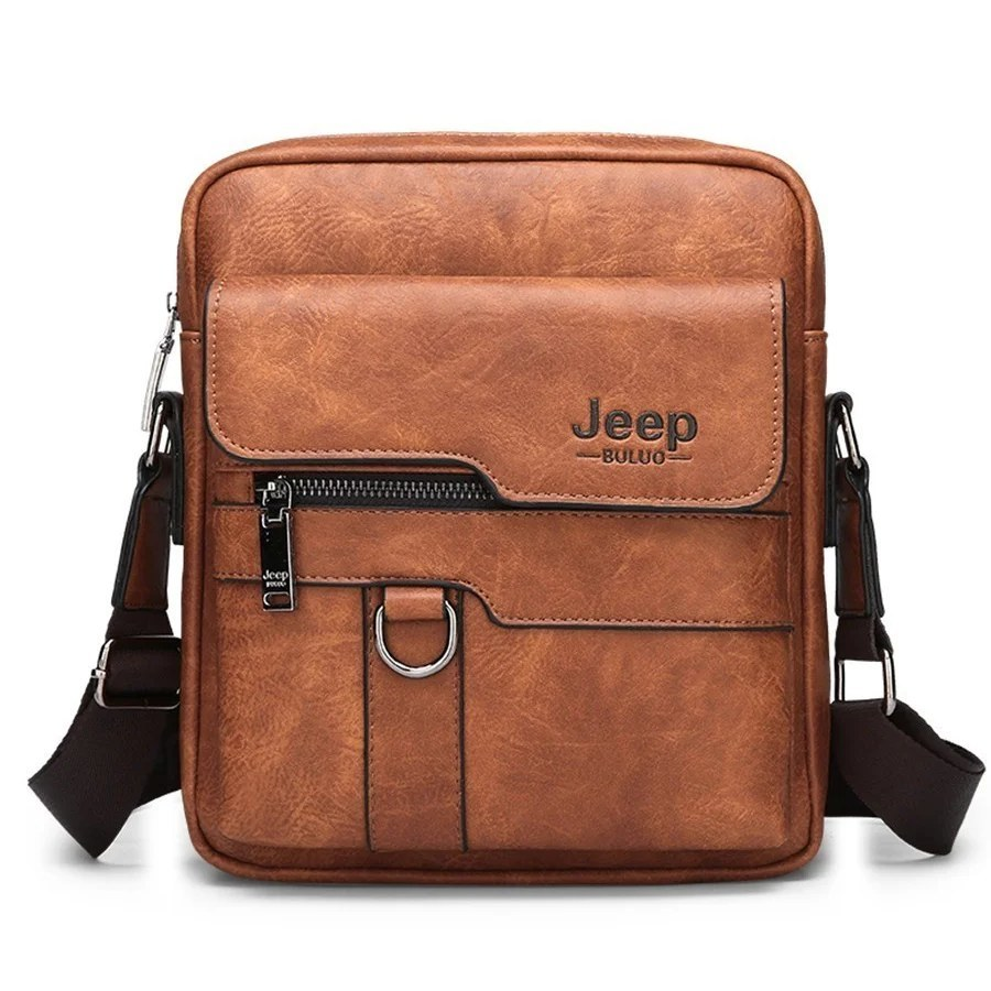 Товары для мужчин Мужская сумка JeepBuluo (28х22) sumka-jeep-buluo--light-braun.jpg