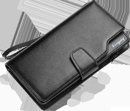 Чёрный вариант цвета портмоне