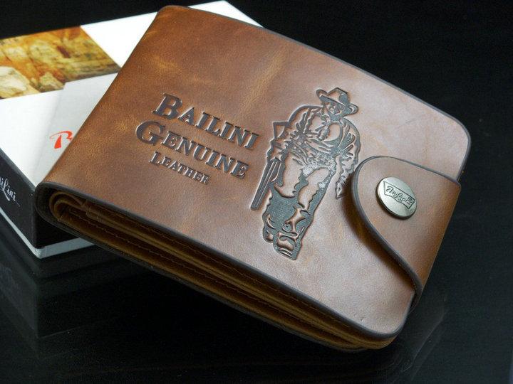  Мужское портмоне Bailini Style