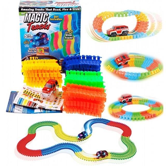 Товары для детей Трасса Magic Tracks (Меджик Трек) 165 деталей medjik.jpg